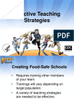 Effective Teaching Strategy