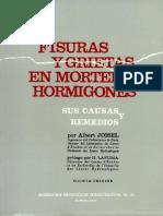 Fisuras y Grietas en Morteros y Hormigones