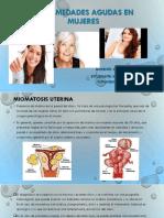 enfermedades agudas en la mujer