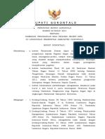 Peraturab Bupati Kabupaten Gorontalo Tentang TPP