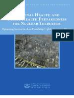 National Center for Disaster Preparedness Nuclear Event-Whitepaper