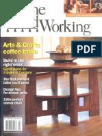 Revista Fine WoodWorking, Vol. 215, Año 2010