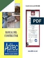 Manual Constructor Aditec Fichas Tenicas