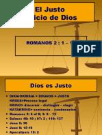 7. El Justo Juicio de Dios