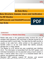 262440630 SAP Mobile Data Entry RF