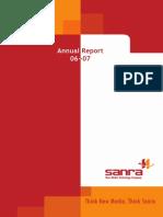 Sanra Anua Report 06-07