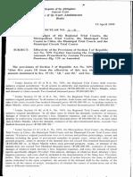 OCA Circular No. 21 1999