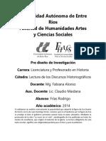 Análisis Historiográfico de La Novela de Perón