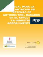 Manual Para La Implantación de Sistemas de Autocontrol Basados en El APPCC en La Industria Alimentaria