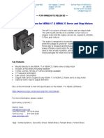 NEMA Brakes for Servo and Step Motors