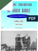 Handle Properties of Fabric