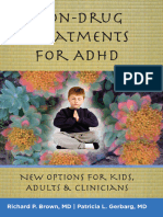 Richard P. Brown, Patricia L. Gerbarg Non-Drug Treatments for ADHD New Options for Kids, Adults, and Clinicians.epub
