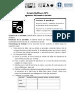 Guía de Trabajo y Pauta Informe Bitácoras