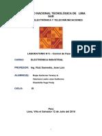 LABORATORIO N°3 DE ELECTRONICA INDUSTRIAL