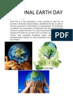 Día Nacional de La Tierra