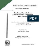 Diseño de Alimentadores para un Sistema Eléctrico en Baja Tensión.pdf