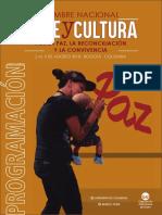 Cumbre Nacional Arte y Cultura 2018