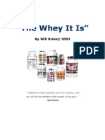 The Whey It Is
