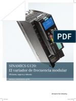 Folleto Sinamics G120