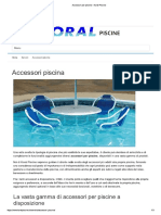 Accessori Per Piscine - Koral Piscine
