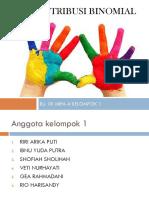PPT. DISTRIBUSI BINOMIAL KELOMPOK 1 RIRI AP.pptx