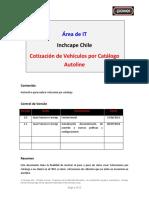 Autoline CRM Cotizaciones Por Catalogo