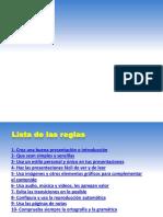 10 Reglas Oro Crear Presentacion Diapositivas Exitosa 130714231343 Phpapp02