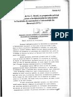 Raportul Gr. C. Moisil  - informatică, 11.02.1971