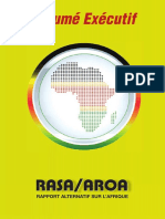 Rapport Alternatif sur l(Afrique (RASA) - RESUME EXECUTIF VERSION FR
