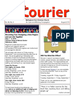August 2018 Courier