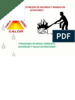 Modulo X - Prevencion y Extincion de Incendios y Manejo de Extintores