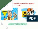 Modulo XI - Uso y Cuidados de Equipos de Proteccion Personal (EPP)