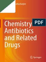 Química de los antibióticos