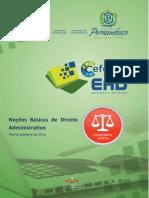Caderno de Noções Básicas de Direito Administrativo - CEFOSPE - 2018 RDDI (1)