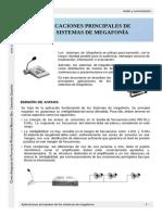 Aplicaciones Principales de Los Sistemas de Megafonía - Cifpn1