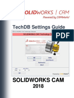 Solidworks Cam Techdb Settings Guide