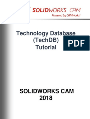 Technology Database Tutorial | Databases | Machining