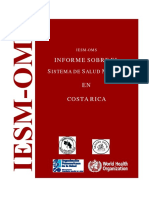 Informe sobre salud