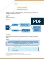 Ejercicios Normas APA- Escritura