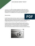 TOYOTA 5 Fuerzas de Michael Porter