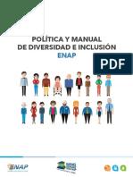 Politica y Manual de Diversidad e Inclusion