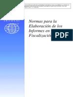 ISSAI-400S Normas Para La Elaboracion de Los Informes en La Fiscalizacion Publica