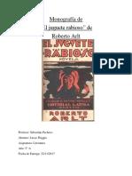 Monografía de El Juguete Rabioso