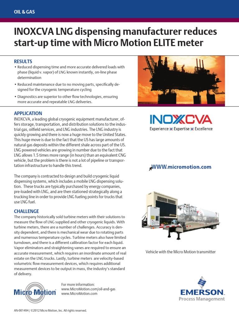 inoxcva lng dispensing manufacturer reduces startup time mm elite en