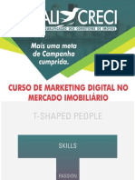 Curso de marketing no mercado imobiliário