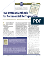 5 Defrost Methods for Commercial Refrigeration