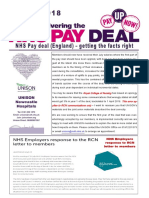 NHS Pay Deal Aug 2018