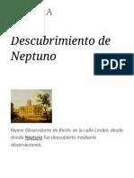 Descubrimiento de Neptuno - Wikipedia, la enciclopedia libre.pdf