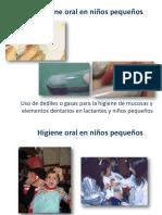 Higeine Oral Niños Pequeños
