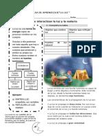 Guia de Aprendizaje Luz y Sonido 3º Basico